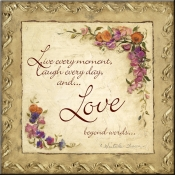 CO-Love Beyond Words - Accent Tile