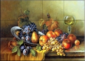 Antique Still Life I    - Tile Mural