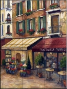 Streets of Venice II    - Tile Mural