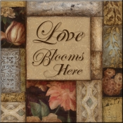 TS-Love Blooms - Accent Tile