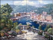 Portofino Two    - Tile Mural
