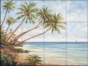 Coastal Light    - Tile Mural