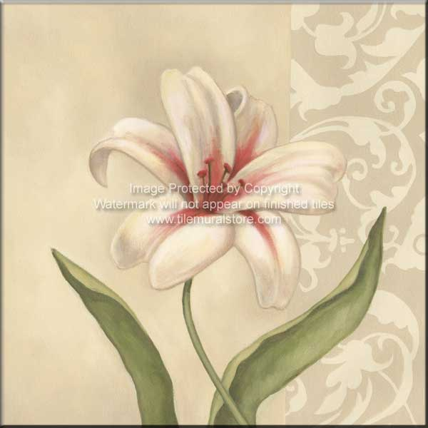 Cream Lily - Accent Tile Special