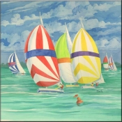 PB-Spinnaker 1 - Accent Tile