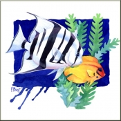 PB-Atlantic Spade Fish - Accent Tile
