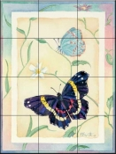Hairstreak Fatima    - Tile Mural
