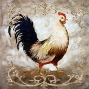 Rooster III - Accent Tile