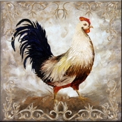 Rooster IV - Accent Tile