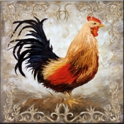 Rooster VI - Accent Tile