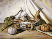 Autumn Bounty    - Tile Mural