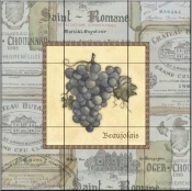 Grapes III   - Tile Mural