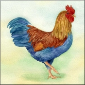 LW-Rooster - Accent Tile
