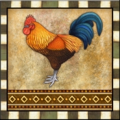 DM-Fancy Rooster 1 - Accent Tile