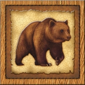 DM-Lodge Grizzly Bear 1 - Accent Tile