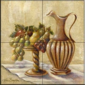 Fruit with Pitcher  - Tile Mural
