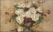 BM-Autumn Rose  - Tile Mural