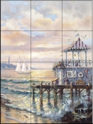 CV-Out to Sail  - Tile Mural