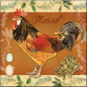 LW- Rooster Natural - Accent Tile