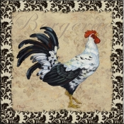 PB- Bergerac Rooster IX - Accent Tile