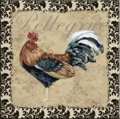 PB- Bergerac Rooster X - Accent Tile