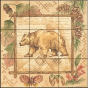 AP-Bear  - Tile Mural