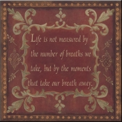 JM- Life is not Measured - Accent Tile
