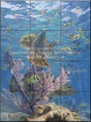 Fishermans Dream-DR - Tile Mural