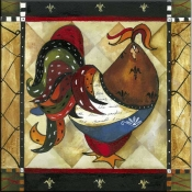 Tuscan Rooster III - JG - Accent Tile