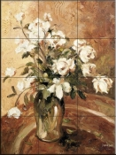 Late Summer Rose-DL - Tile Mural