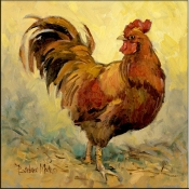 Rooster Rules I - BM - Accent Tile