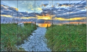 Captiva Sunset-SA - Tile Mural