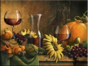 Autumn Bounty-JS - Tile Mural