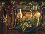 Evening in Tuscany-JS - Tile Mural
