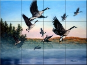 Time To Go-RD - Tile Mural