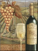 French Vineyard VI-CB - Tile Mural