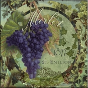 Wines of France III - CB - Accent Tile
