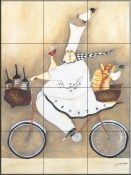 Chef To Go-JG - Tile Mural