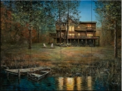 Lakeside Retreat-JH - Tile Mural