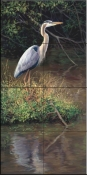 Mr. Blue Heron-LSH - Tile Mural
