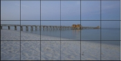 Early Morning at the Naples Pier - SA - Tile Mural