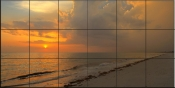 Good Night Sun - SA - Tile Mural