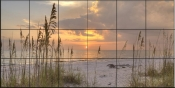 Beach Grass at Sunset - SA - Tile Mural