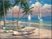 Time to Sail - TC - Tile Mural