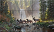 Streams of Light - MK - Tile Mural