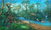 Rainforest - DM - Tile Mural
