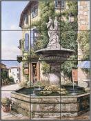Provance Fountain - SP - Tile Mural