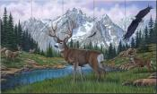In All His Majesty - MM - Tile Mural