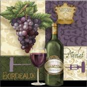 Chateau Reds - TW - Tile Mural