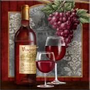Chateau Vineyards - TW - Tile Mural