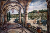 Autumns Harvest    - Tile Mural